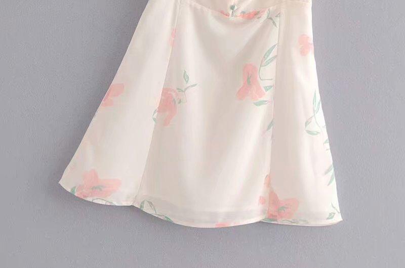 Chiffon Fashionskirt(Picture color -L) NHAM4473-Picture-color-L