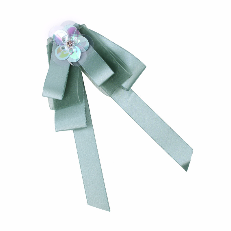 Alloy Fashion Bows brooch  (green) NHJQ9871-green