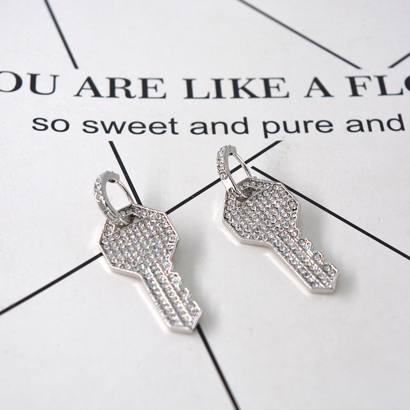 Womens Geometry Electroplating Alloy Earrings NHNT154524