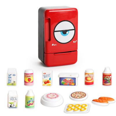 Mô phỏng đồ gia dụng nhỏ trẻ em của câu đố chơi đồ chơi nhà bếp đa chức năng điện máy hút bụi điện sắt máy xay sinh tố