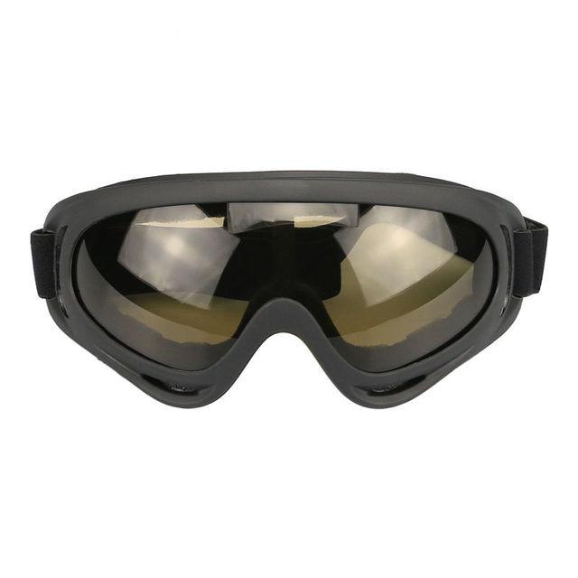 Kính râm X400 đi xe thể thao ngoài trời chống bụi gió xe máy Thiết bị xe máy trượt tuyết mô hình kính nổ Kính đi xe đạp