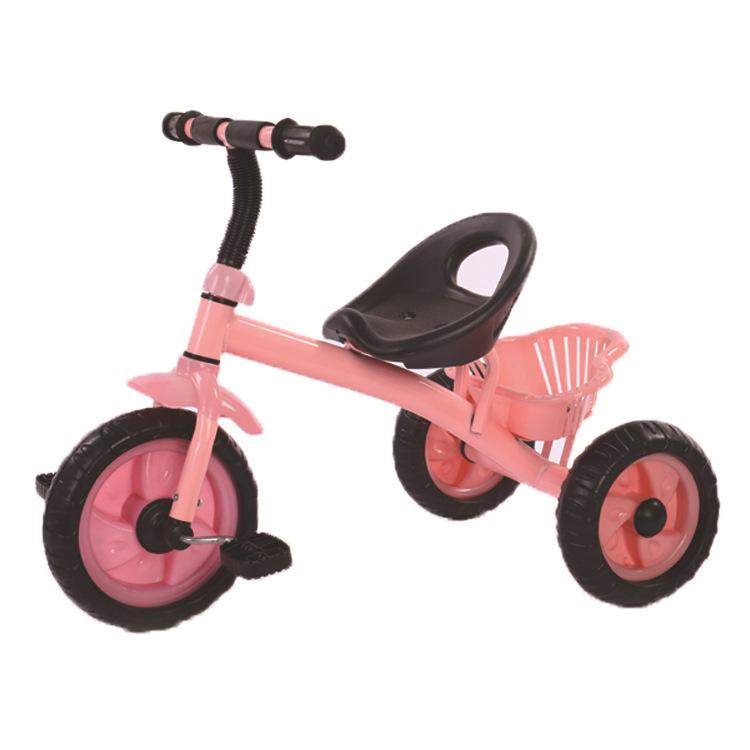 儿童三轮车脚踏车 防滑耐磨轮胎 溜娃神器 简易便捷玩具车滑行车