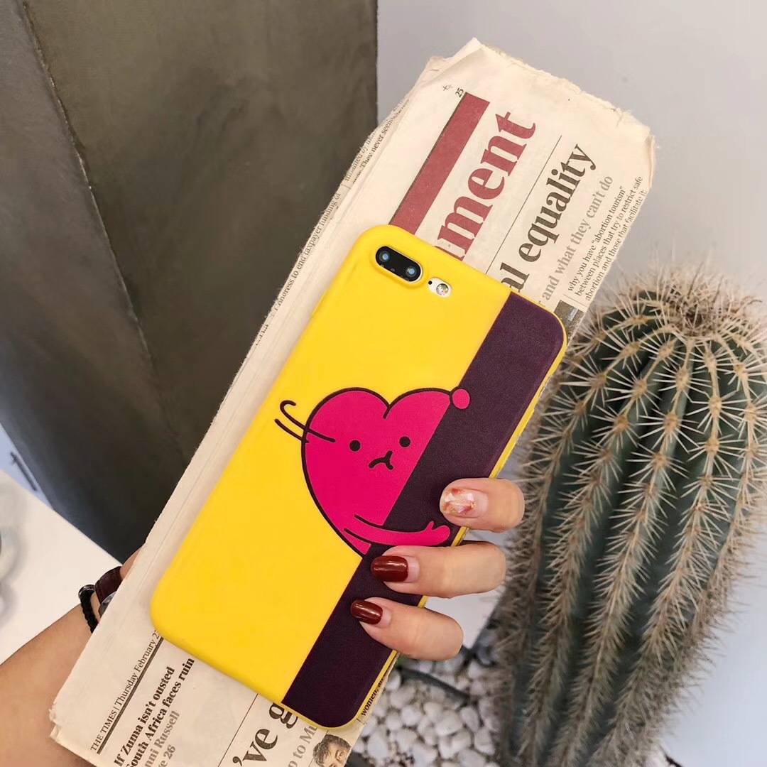 iphoneX/7 cute stealing love oppo a79 mobile phone shell love vivo y79 protective cover r15 dream mirror