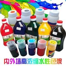 黑色白色色漿多色調色劑高濃度鐵紅鐵黃水性色漿內外墻乳膠漆通用