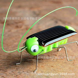 Solar Grasshopper Solar Toys Wholesale Solar Bugs Creative Gifts Birthday Gifts Out of Stock
