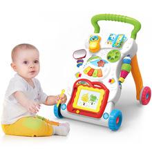 皇儿正品 婴儿音乐学步车手推车儿童早教多功能可调速助步车玩具