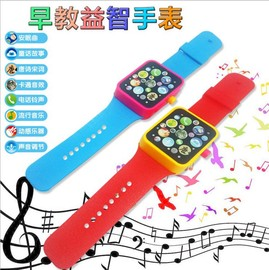 Infant Children's Puzzle Enlightenment Early Learning Story Watch Toys Touch Screen Smart Story Machine Watch Toys