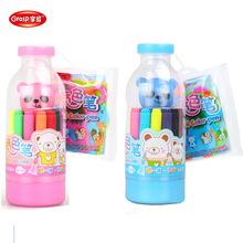掌握水彩笔可水洗魔法喷喷笔12色 24色喷喷笔 儿童彩笔喷画笔