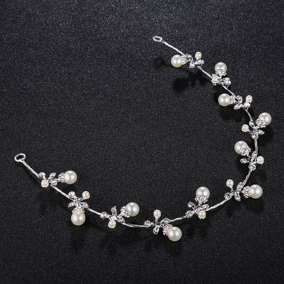 Alloy Fashion Geometric Hair accessories  (white) NHHS0246-white