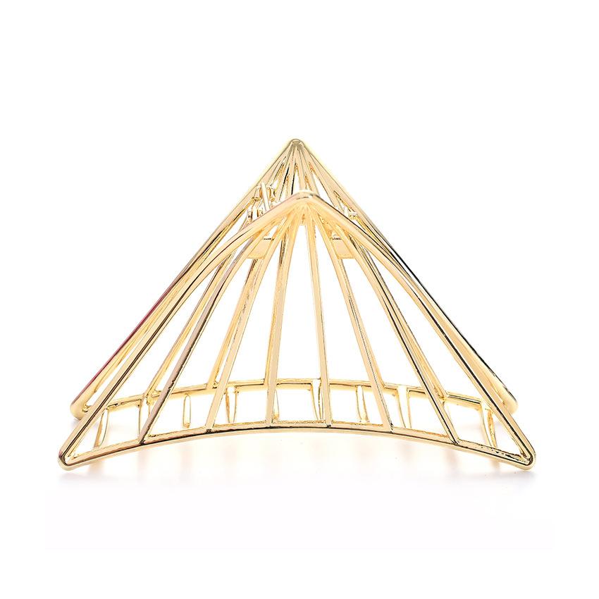 Alloy Simple Geometric Hair accessories  (black)  Fashion Jewelry NHHN0465-black
