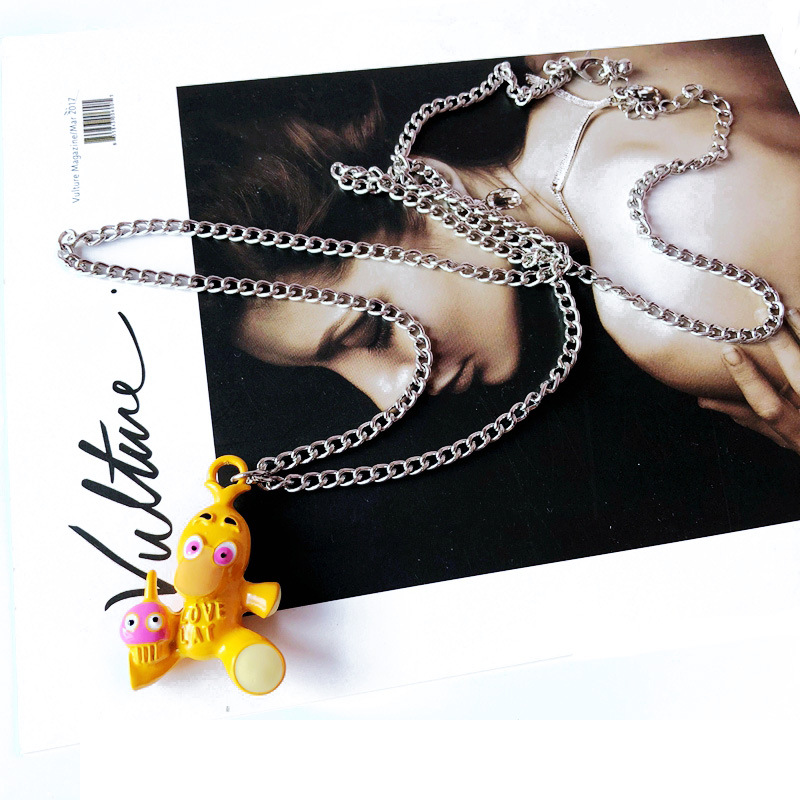 Alloy Korea  necklace  red NHOM1106red