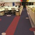 办公室方块地毯拼接台球室写字楼客厅满铺PVC底加厚商用地垫地毯