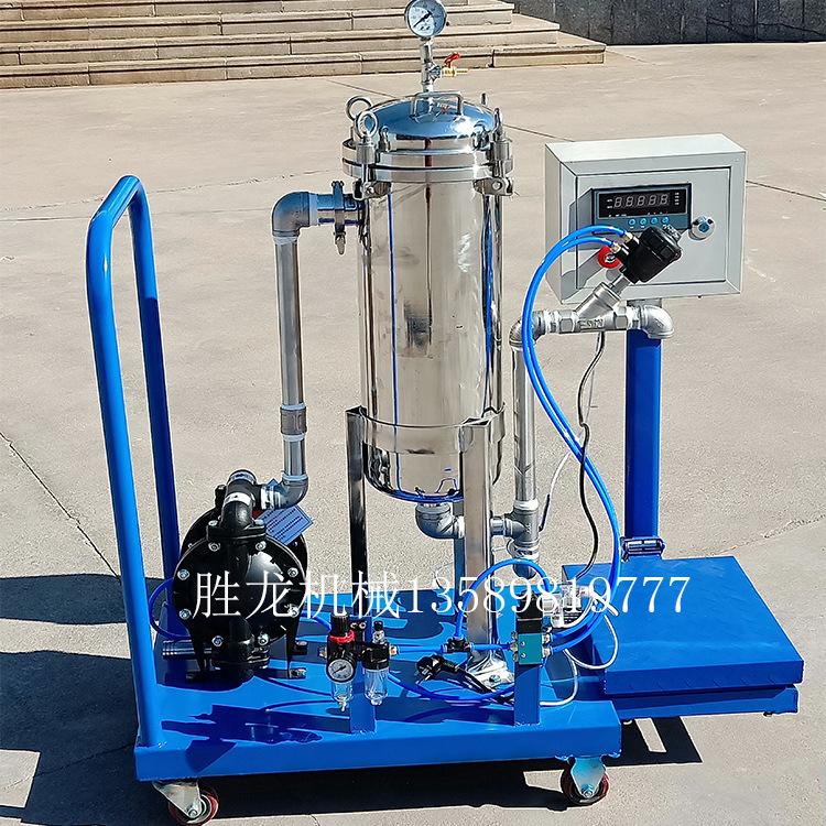供应袋式过滤器 不锈钢杂质过滤机 涂料油漆过滤机自动称重过滤机