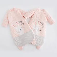 巴仔兔 批发加厚女宝宝睡衣儿童防踢被神器母婴用品婴儿睡袋秋冬