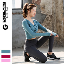 韩版休闲舒适健身瑜伽服三件套女 户外专业舞蹈瑜伽套装一件代发