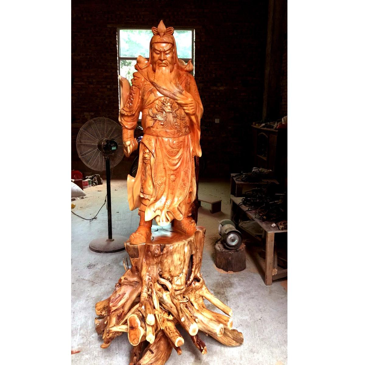 木雕 根雕 禮品  工藝品 擺件 佛像批發 木質工藝品 關公