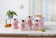 商场超市热卖陶瓷保温杯 居家日用百货开水杯 新款礼品马克单杯