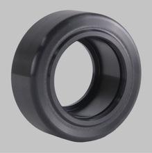 黑色和灰色 弹性胶铝芯轮 电动叉车轮 烧油叉车轮 储罐导轮 定制