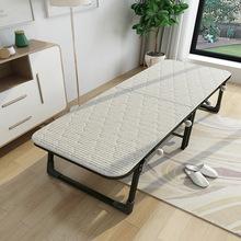 厂家直销折叠床单人床办公室午休床午睡木板床海绵床简易陪护小床