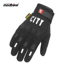 Có thể chạm vào găng tay xe máy Găng tay đi xe đạp ngoài trời Đua xe địa hình Găng tay toàn màn hình phản chiếu ban đêm Găng tay đi xe đạp