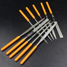钢盾10件套金刚石打磨钢锉刀三角半圆平头扁锉子钳工S090005