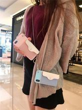 蘋果11pro手機殼斜跨零錢包iPhone7/8 plus卡包xsmax硅膠保護套xr