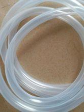 廠家現貨銷售硅樹脂材質套管 高溫軟管套管 硅膠材質醫用硅膠管