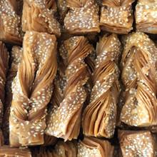 冰糖千層大麻葉10斤散裝 蜜餞糕點傳統工藝超市蛋糕房專供點心