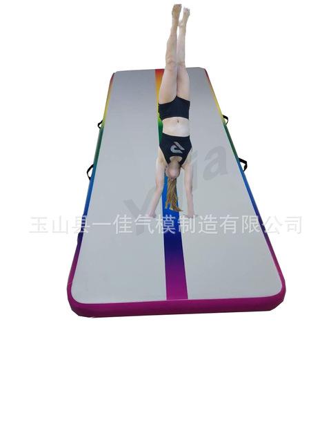 厂家直销多功能充气垫柔道垫子健身防护跳高垫体育运动用品
