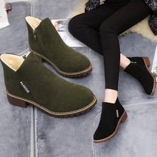 2019 winter shoes women ankle boots students snow