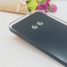 厂家专业提供 底座盖板钢化玻璃 玻璃钻孔 黑色丝印深加工
