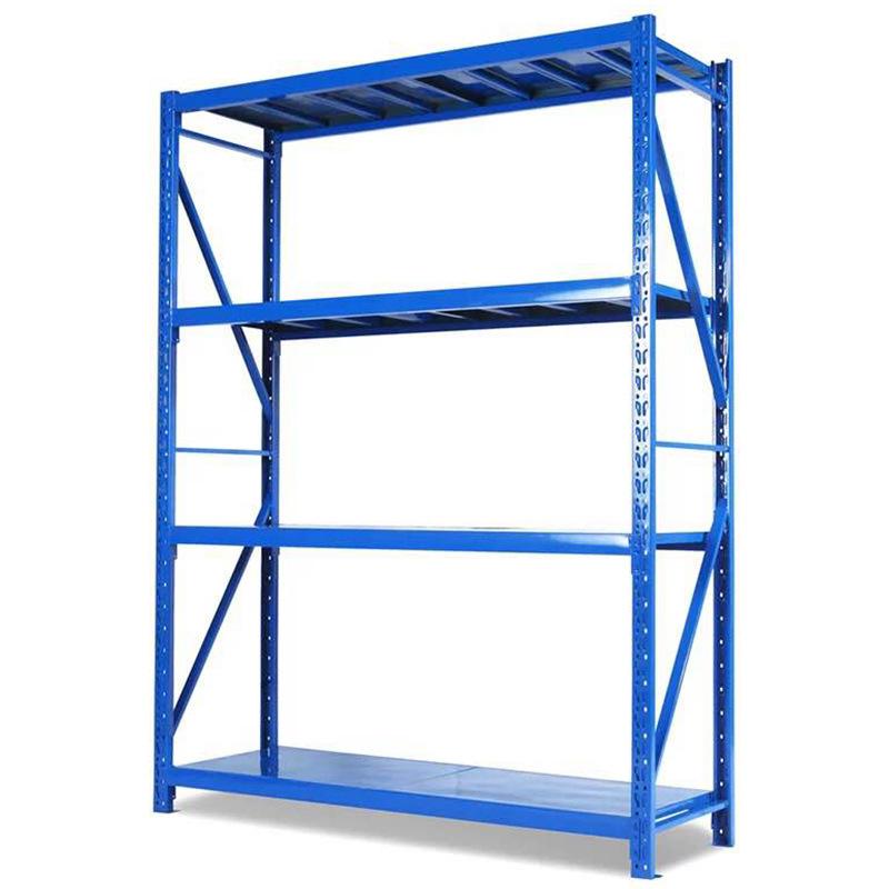 仓储货架置物架储藏室货架自由组合移动式货架济南货架厂多省包邮