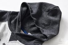 STW050~~~走法國~~~~2019春新品~~~ 兒童~~~印花~~~百搭帽衫插肩
