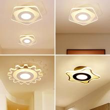 入户玄关灯 走廊灯正方型现代简约创意过道灯led吸顶阳台天花灯具