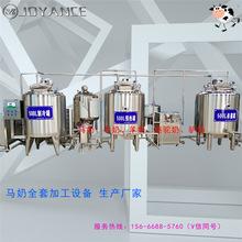 全套马奶加工设备 酸马奶生产线价格 自动化奶制品设备生产厂家