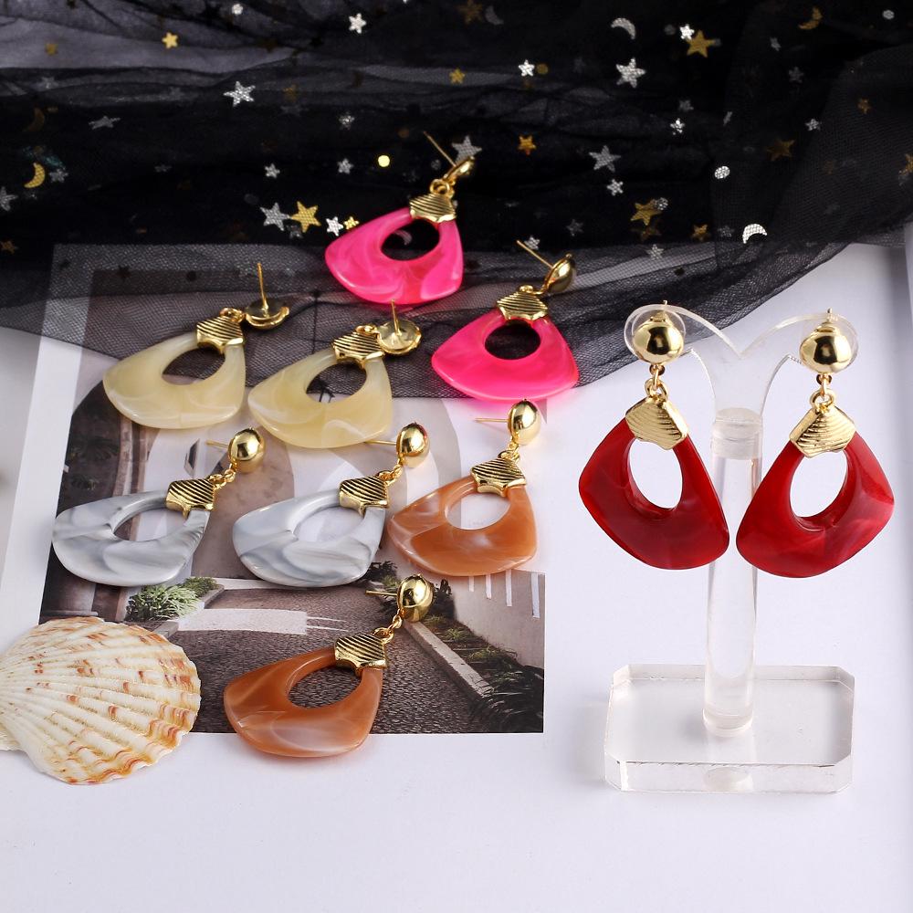 Bohemian dream catcher long paragraph preparation female earrings NHIM149921