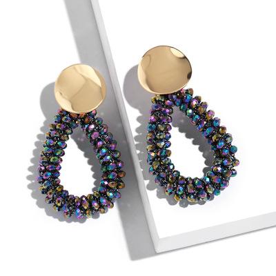 Khuyên tai nữ thời trang, kiểu đơn giản, màu sắc trang nhã, mẫu mới