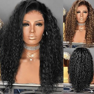 Curly Hair Wigs Parrucche per capelli ricci Selling women pelucas long curly wigs and African small curly wigs