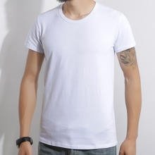 Men summer short-sleeved T-shirt boy student breathable tops