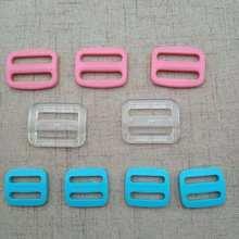 廠家直銷 彩色三檔扣 箱包調節扣 日字扣 透明扣 15mm 20mm 25mm