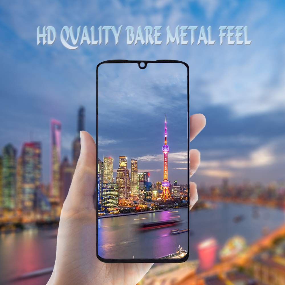 适用MOTO Z4 Play二强全屏丝印钢化膜高清纳米防爆批发iPhone 6s