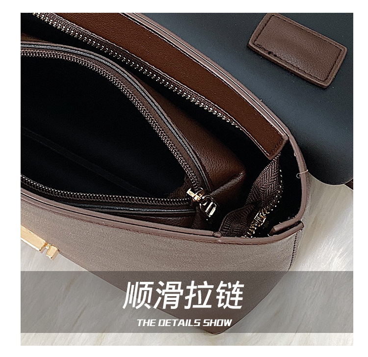 Wholesale bags women's new Korean fashion large capacity briefcase shoulder Messenger bag NHTC185208
