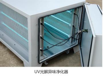 厨房油烟异味净化器(UV光解静电一体机)