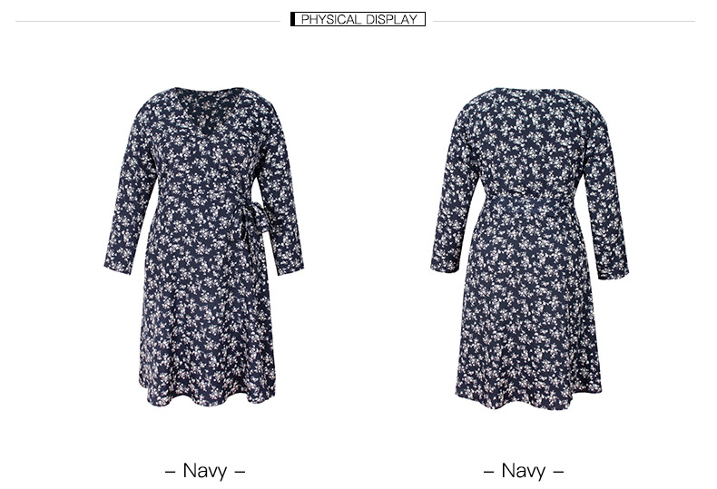 fashion women's small floral dress NSKA1642