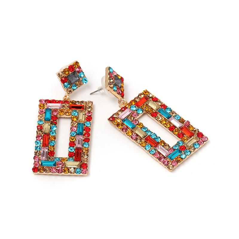 Alloy Fashion Geometric earring  white  Fashion Jewelry NHJJ5555white