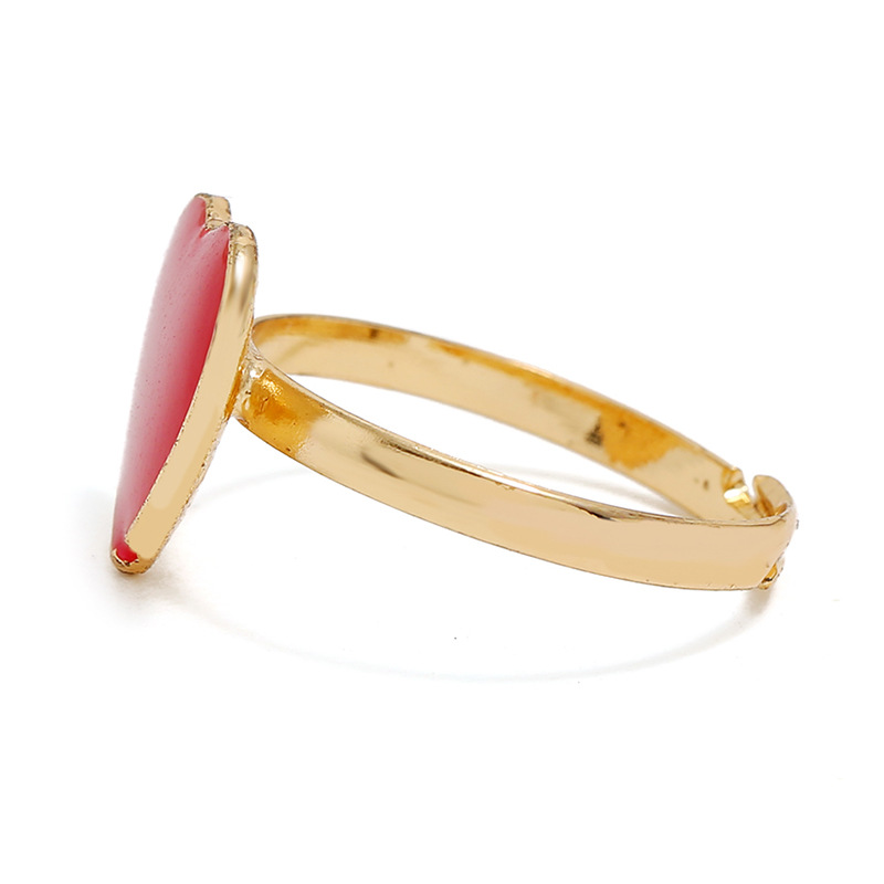 European and American simple love alloy ring NHKQ152231