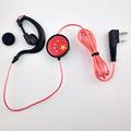 挡水遮汗低音手机耳机  L弯型耳机厂家直销 跑步个性带麦挂耳通用