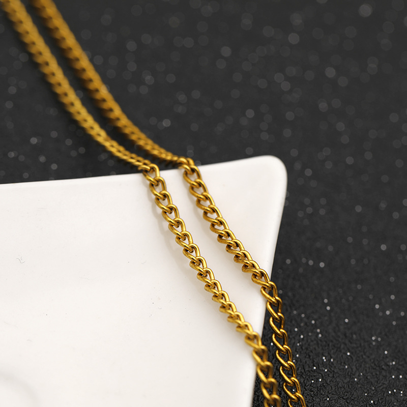 New fashion Avengers 3 tyrant unlimited gloves fashion necklace clavicle chain yiwu nihaojewelry wholesale NHMO208208