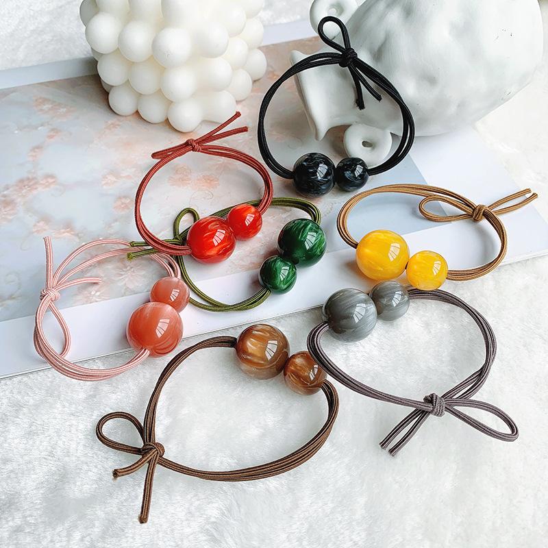 Head rope cats eye rubber band simple elegant hair rope female adult hair ring ponytail jewelry NHOF176074