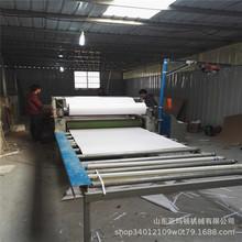 免漆板發泡板全自動貼紙機成卷PVC膜板材塗膠覆膜機熱熔膠貼合機